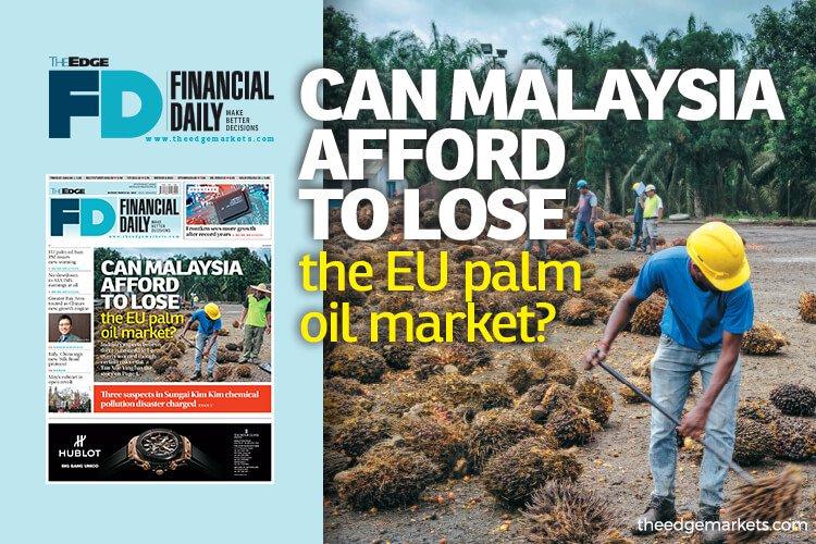 大马输得起欧盟原棕油市场吗?